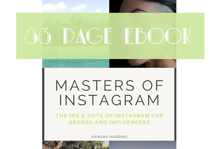 Instagram Ebook & Guide to Growth in Instagram Templates - product preview 8