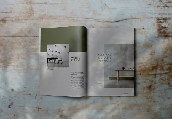 Decorafame Lookbook Magz Template in Magazine Templates - product preview 3