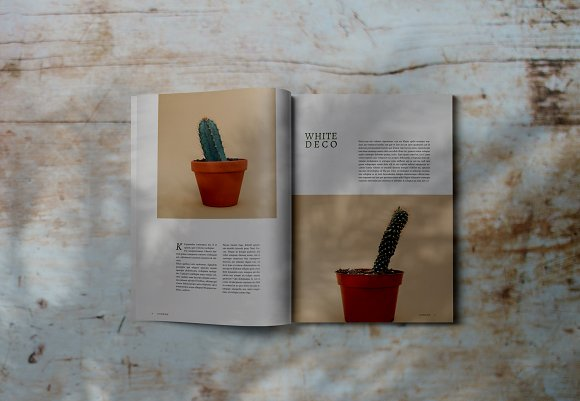 Decorafame Lookbook Magz Template in Magazine Templates - product preview 4