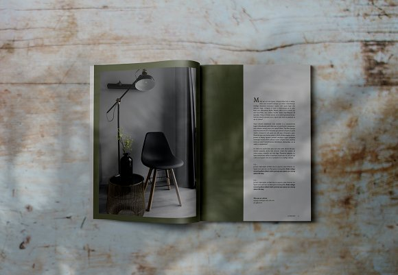 Decorafame Lookbook Magz Template in Magazine Templates - product preview 5