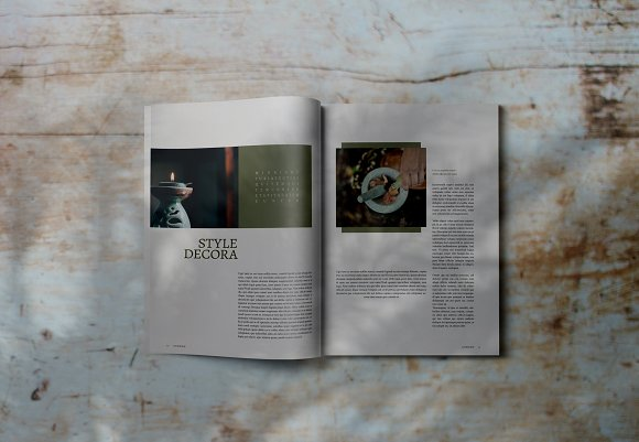 Decorafame Lookbook Magz Template in Magazine Templates - product preview 6