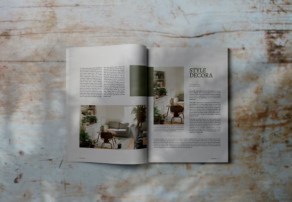 Decorafame Lookbook Magz Template in Magazine Templates - product preview 7