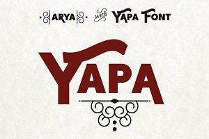 Yapa Family Font