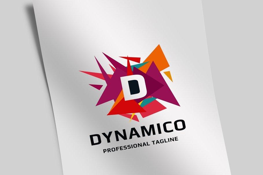 Dynamico Letter D Logo