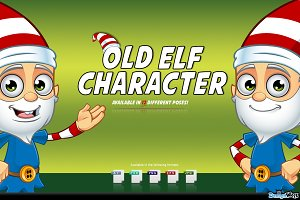 Old Elf Character