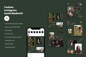 Fashion Instagram Social Media Kit