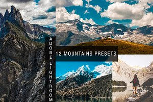 mountain lightroom preset