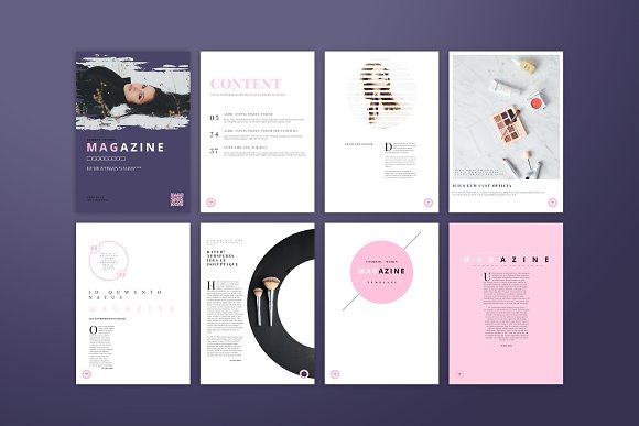 Fashion / Women Magazine Template in Magazine Templates - product preview 1