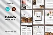 Minimal Ebook Templates For Canva