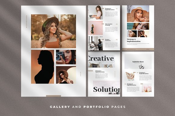 Minimal Ebook Templates For Canva in Magazine Templates - product preview 7