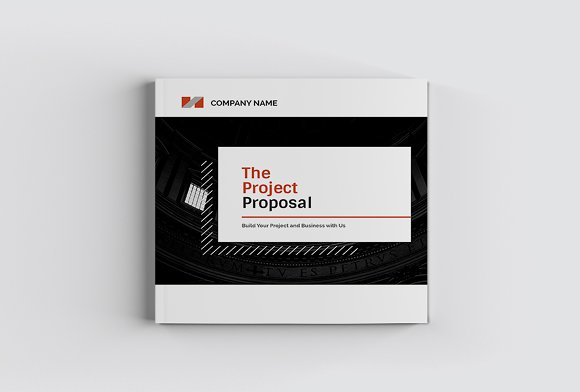 The Project Company Profile in Magazine Templates - product preview 1