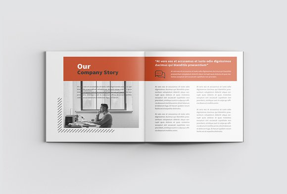The Project Company Profile in Magazine Templates - product preview 3