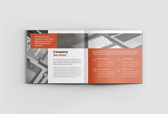 The Project Company Profile in Magazine Templates - product preview 4