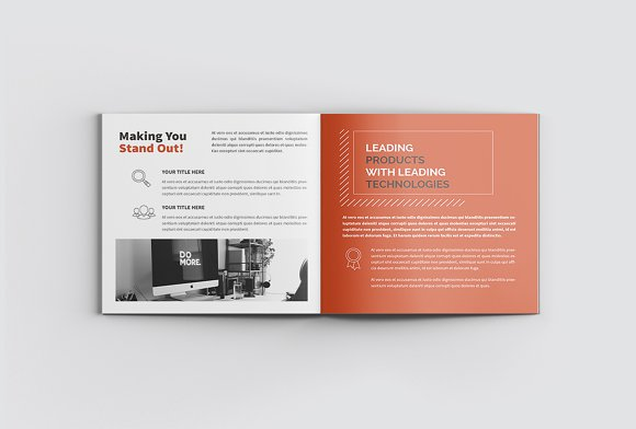 The Project Company Profile in Magazine Templates - product preview 5