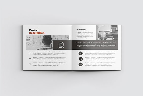 The Project Company Profile in Magazine Templates - product preview 6