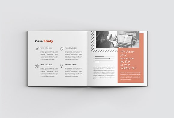 The Project Company Profile in Magazine Templates - product preview 7
