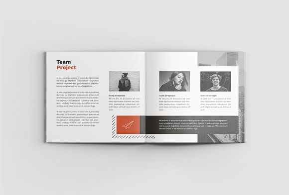 The Project Company Profile in Magazine Templates - product preview 9