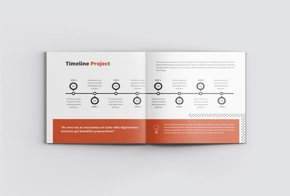 The Project Company Profile in Magazine Templates - product preview 10
