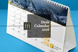 Desk Calendar 2016 (DC08)