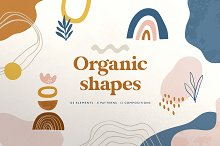 Abstract Organic Shapes Collection