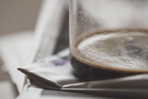 Coffee and the Morning Newspaper