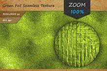 Green Foil Tileable HD Texture