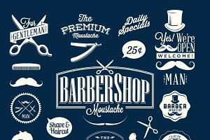Barber Shop Emblems