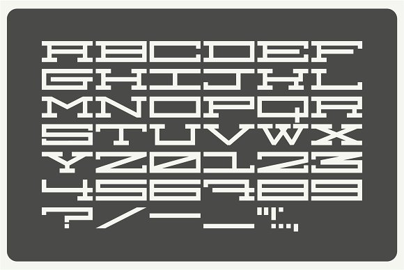 Chonky in Display Fonts - product preview 5