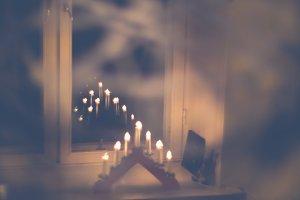 Christmas candles #4