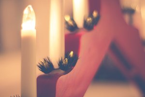 Christmas candles #3