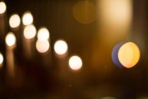 Christmas candles #7