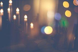 Christmas candles #6