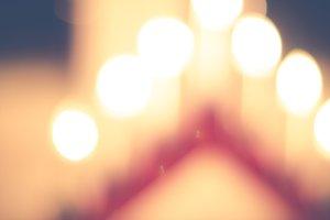 Christmas candles #8