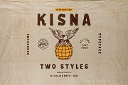 Kisna Typeface
