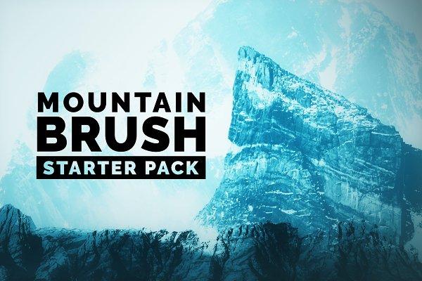 Mountain Brushes Starter Pack
