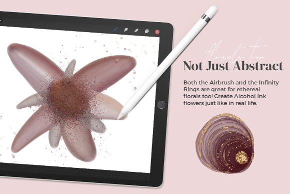 Amazing Alcohol Ink for Procreate in Add-Ons - product preview 10