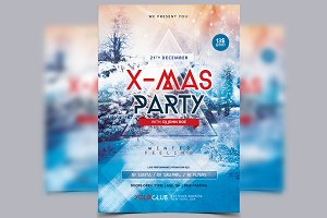 Xmas Party 2016 - PSD Flyer