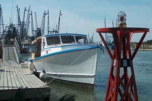 Fishing Boat at the Dock