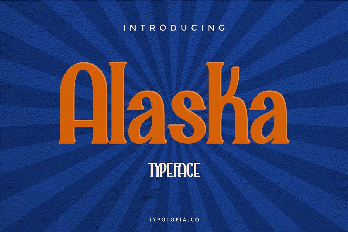 Alaska Typeface