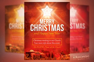Christmas in Church Flyer