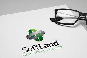 SoftLand Business Clean Logo
