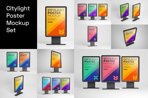Advertising Mockup Bundle in Print Mockups - product preview 2