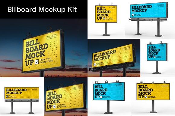 Advertising Mockup Bundle in Print Mockups - product preview 3