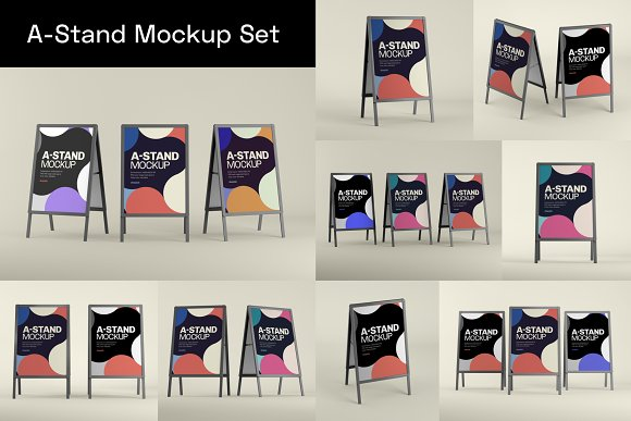 Advertising Mockup Bundle in Print Mockups - product preview 5