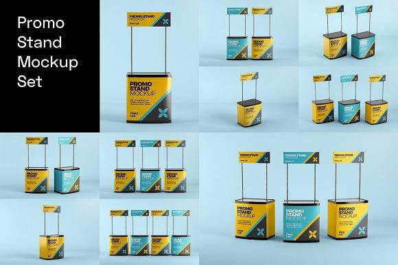 Advertising Mockup Bundle in Print Mockups - product preview 6
