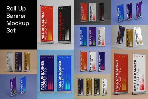 Advertising Mockup Bundle in Print Mockups - product preview 11
