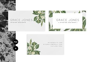 Customizable business card