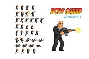 Body Guard Game Sprite