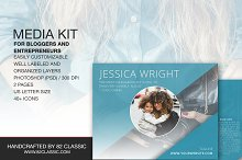 Media Kit Template and Cover