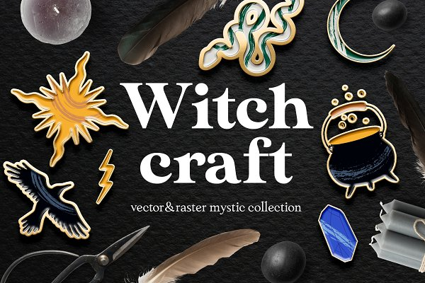 Witchcraft✵vector mystery collection